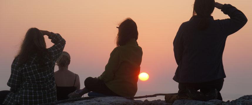 Compassionate Goddess Sunset